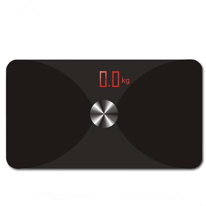 New intelligent Bluetooth electronic balance fat fat water weight scale APP smart Internet Precision body fat analyzer