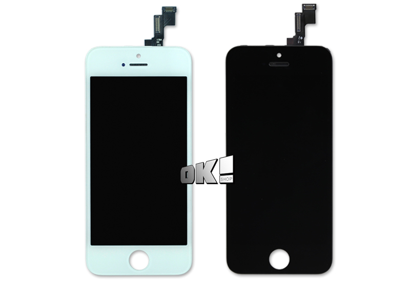 DHL 5 PCS Good price best quality For iPhone 5S LCD Display+Touch Screen Digitizer Assembly,free shipping(China (Mainland))