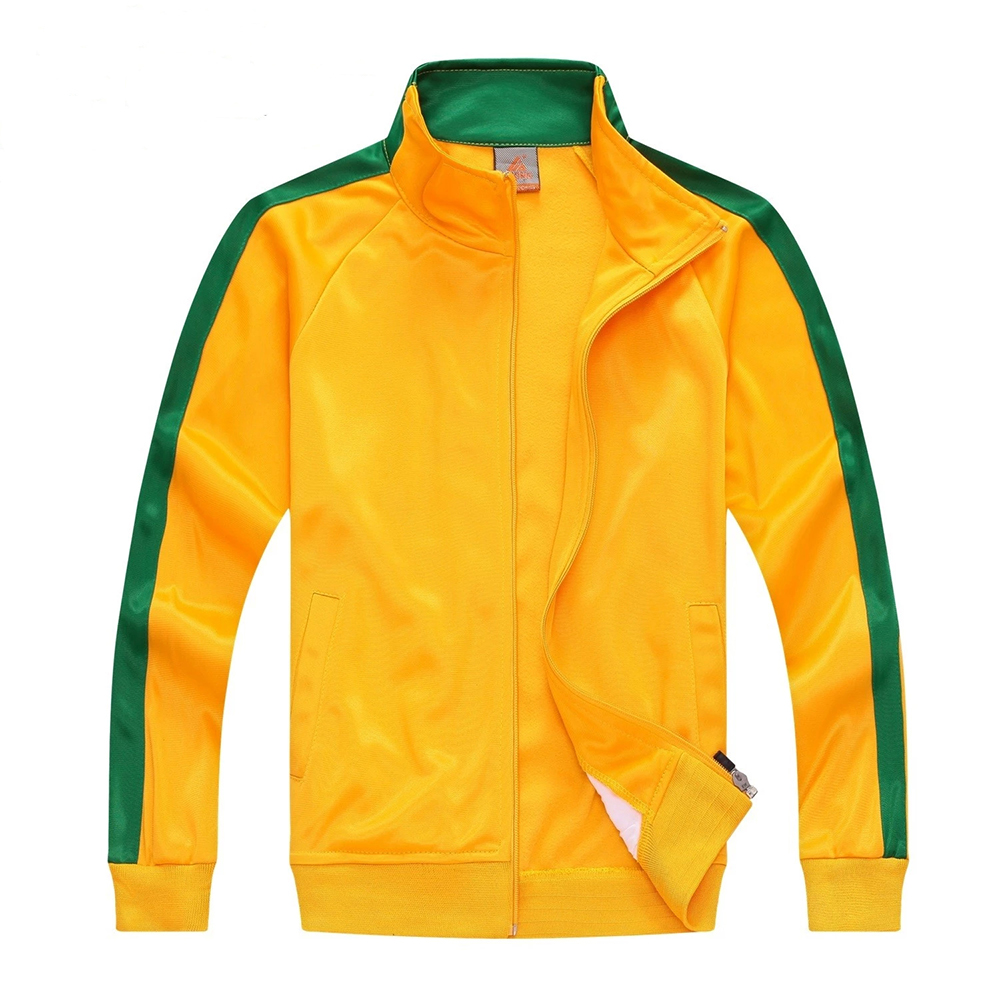 2016 top quality soccer uniform football tracksuit customized adult long sleeve outdoor sports suit jacket athletics jogging(China (Mainland))