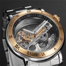 2015 Fashion SHENHUA 9584 High Quality Auto Movement Men's Mechanical Watch Male Wristwatch Relogio(China (Mainland))