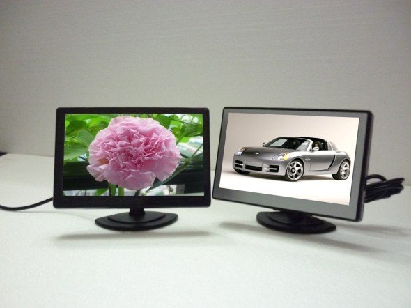"NEW 4.3"" Digital TFT LCD Colour Car rear View Camera Monitor Screen Free Shipping"