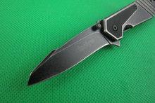 New KERSHAW STEEL Colors Small Little Woodpecker folding pocket knife 3CR13 Blade Steel Handle Freeshipping Best