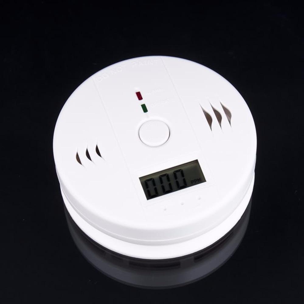 1pcs CO Carbon Monoxide Poisoning smoke Gas Sensor Warning Alarm Detector Tester LCD Hot Worldwide(China (Mainland))