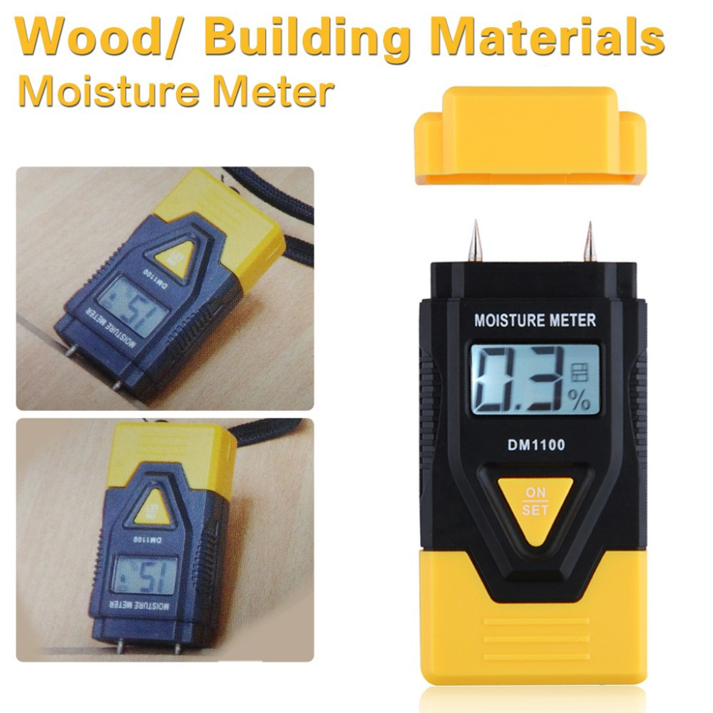 MINI 3 In 1 Digital Wood Moisture Meter sawn timber hardened materials ambient temperature Moisture Meter(China (Mainland))