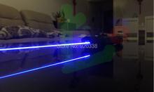 Лазер меч! Сильный электропитание военный 5000 МВт 5 w 450nm синий лазерная указка действительно горения лазерной указатель