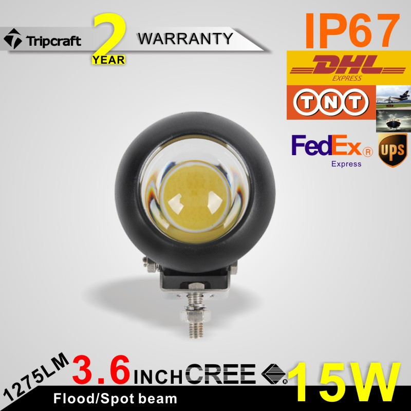 Фотография 3.5inch 15W LED WORK LIGHT led stand Led Work Light Mine Off road Lights Lamp For 4x4 ATV Boat Jeep