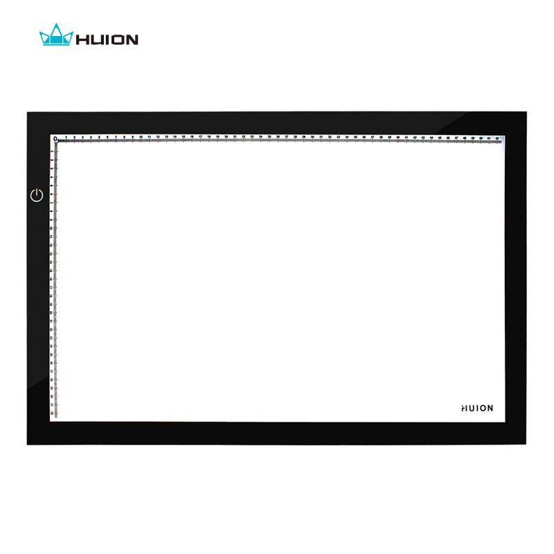 Hot Sale New Huion A2 LED Tracing Boards Ultra Thin Light Pads Professional Animation Tracing Light Boxes LED Light Pad Panels(China (Mainland))