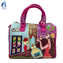 2016 new candy bags braccialini Style Women Handbag Embroidered shoulder handbag cartoon fashion handbags
