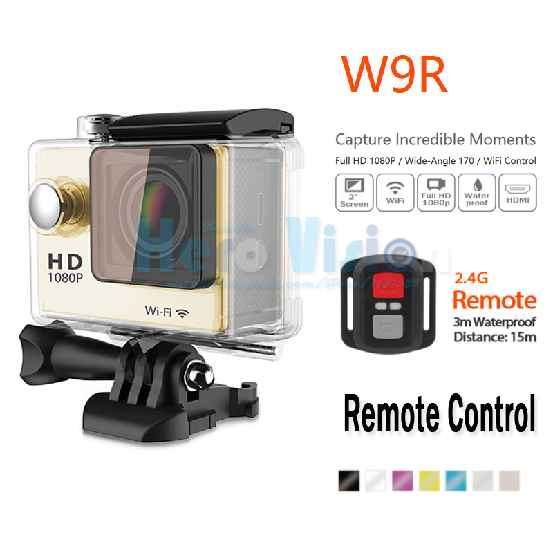 Eken W9 2-inch Screen Action Camera 1080p Full HD Sport Camera 30M Waterproof