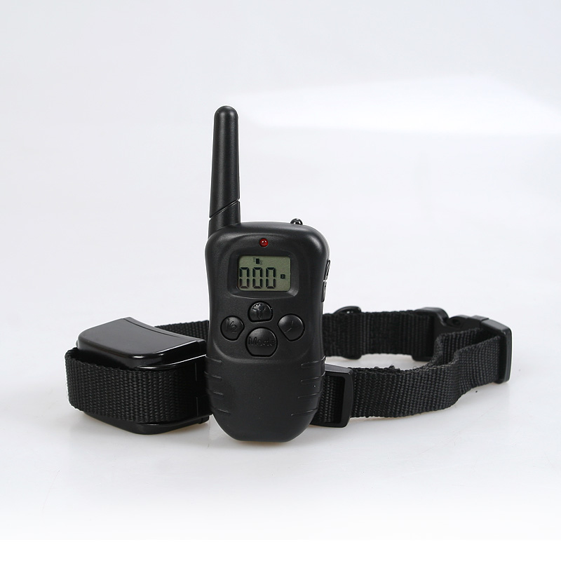Remote LCD 300 Yard Electric Shock Vibrate Pet Dog Training Collar Waterproof(China (Mainland))