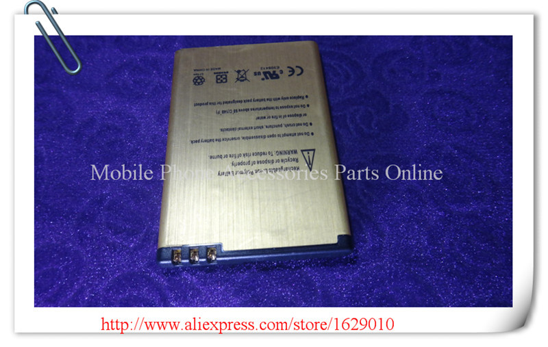 3030mAh High Capacity Gold Cellphone Battery BATERY BP-4L BP 4L For Nokia N97 E90i E95 6760 E52 E55 E61 E63 E71 E72 E90 N810(China (Mainland))