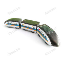 honesteer DIY Educational Solar Powered Bullet Train Toy Kit Gift Save up to 50%