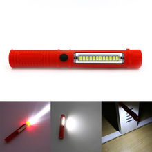 LED Night Light Flashlight LED Torch Lantern Work Light 13 Portable LED Lights Camping Bicycle Lamp With Built-in Magnet Clip(China (Mainland))