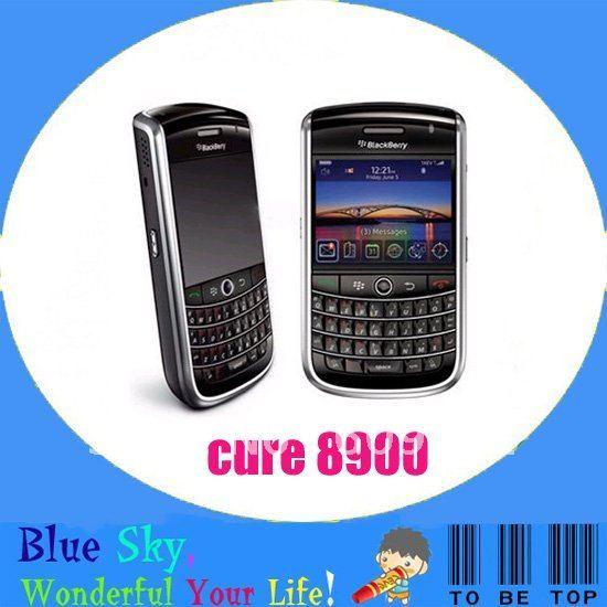 Swiss post free shipping Refurbished Unlocked Qwerty keyboard original phones blackberry 8900