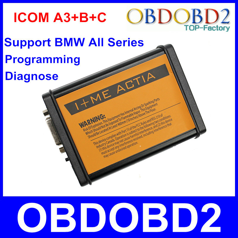 2015 New Arrival ICOM A3+B+C Auto Diagnostic Tool &amp; Programmer Without HDD Software ICOM A3 Programming Interface For All Series<br><br>Aliexpress