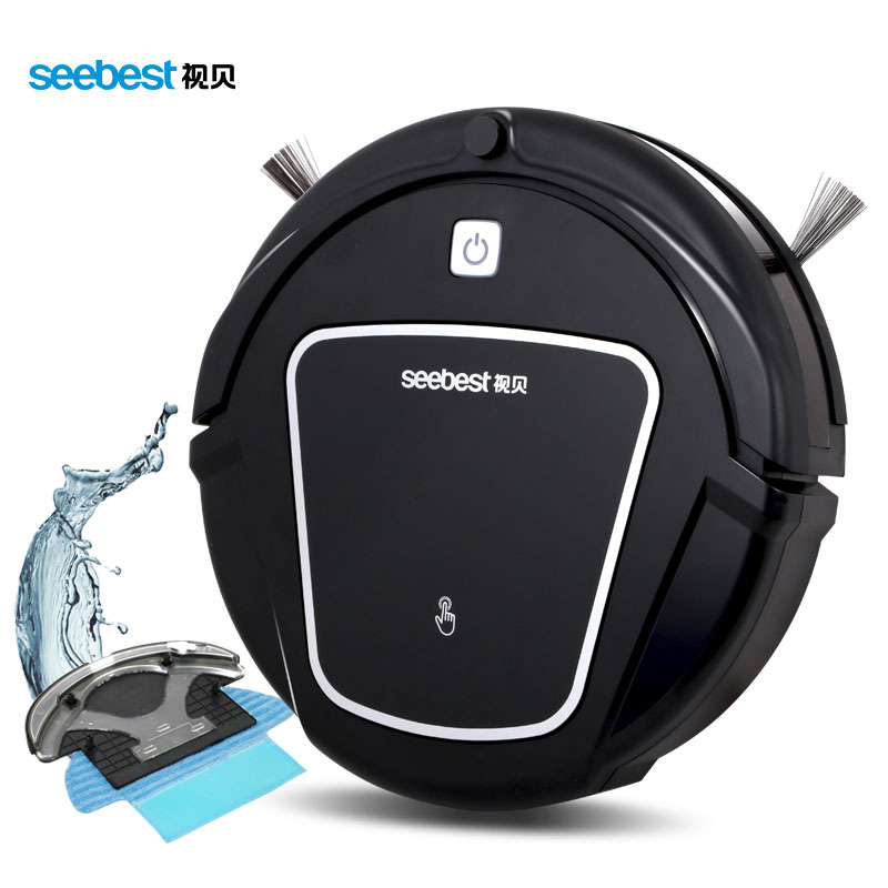 Robot Vacuum Cleaner with Wet/Dry Mopping Function, Clean Robot Aspirator Time Schedule, Seebest D730 MOMO 2.0 Russia Warehouse(China (Mainland))