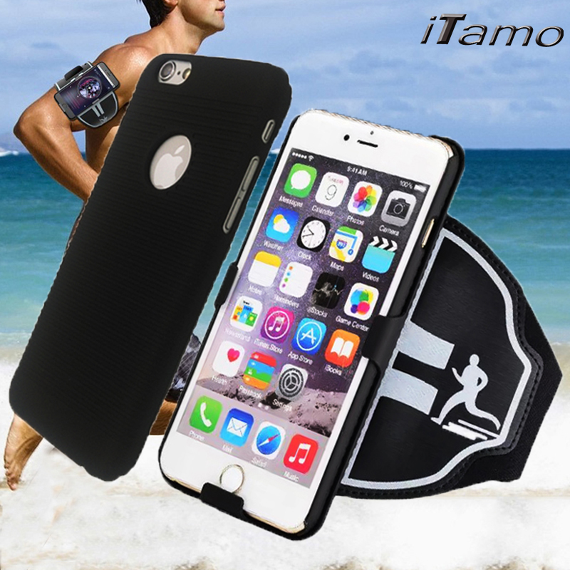 2 in 1 Sports Running Gym Fitness Arm Band Case Cover for iPhone 4 5 6 s plus for Samsung S3 S4 S5 S6 S7 edge for LG G2 G3 G4 G5(China (Mainland))
