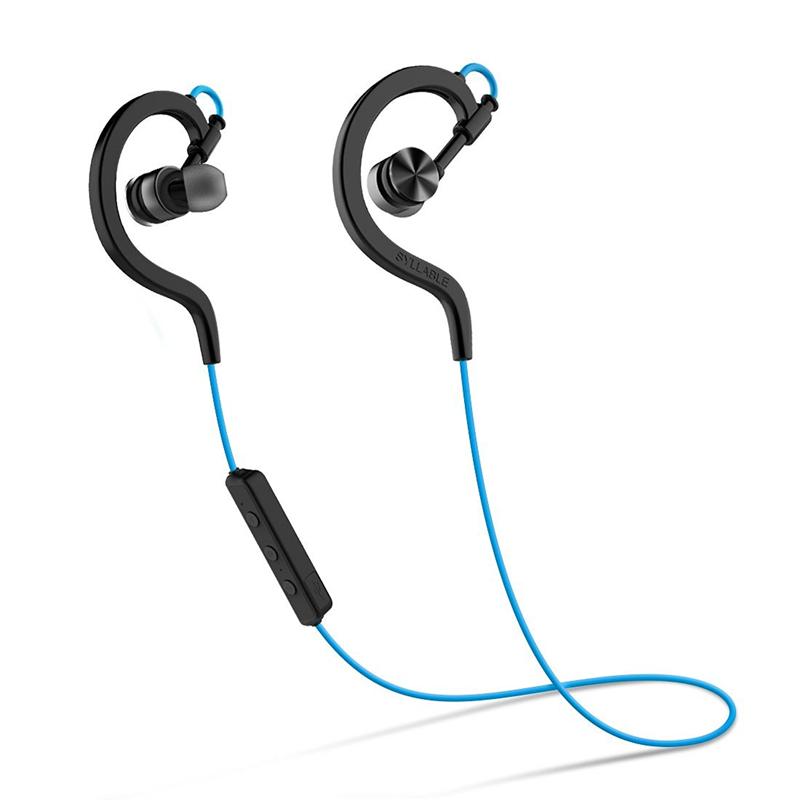2016 SYLLABLE D700 Wireless Earphones With Mic mini auricular bluetooth V4 1 font b Sport b