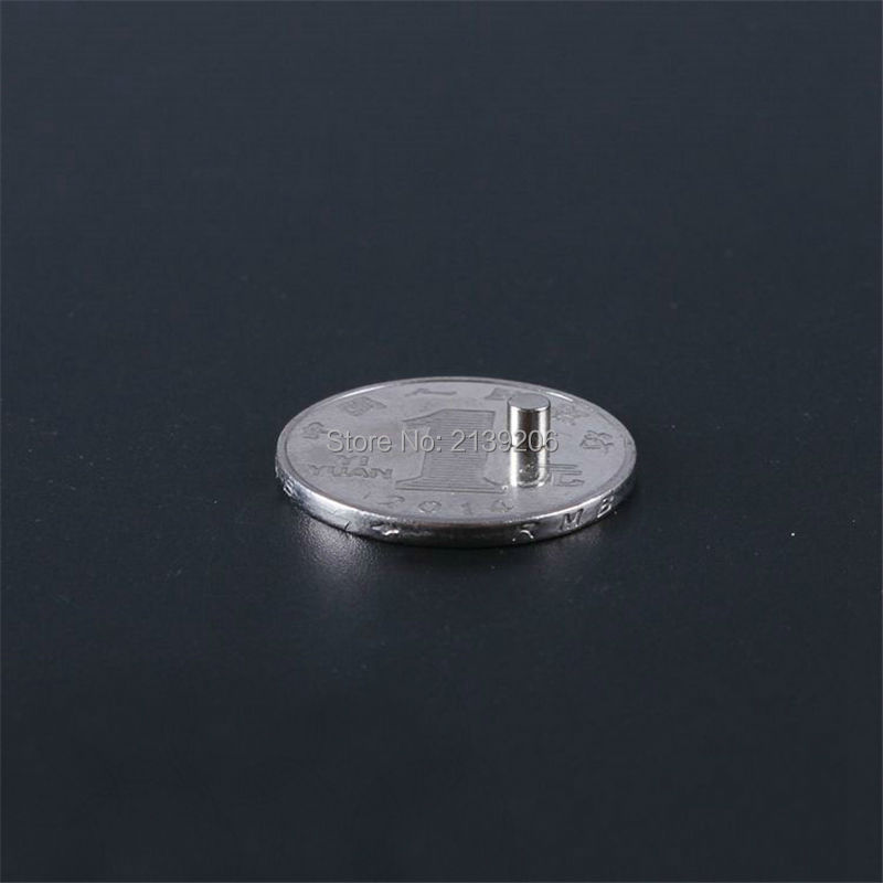 10PCS D3mm*3mm pull force 0.1KG strong rare earth neodymium NdFeB permanent magnets samples