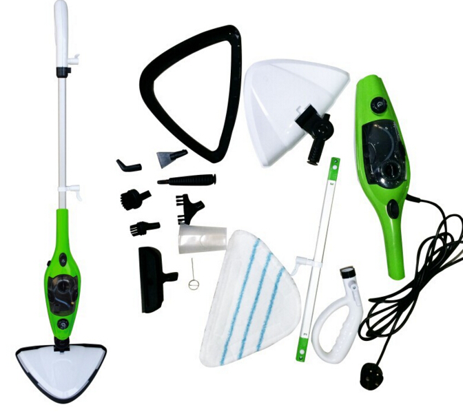 Family 10 in 1 Steam Mop Steam Cleaner Floor Carpet Vapor Sweeper Steamer Express Ship Vacuum Cleaners(China (Mainland))