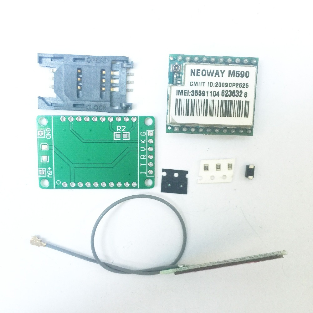 DIY KIT GSM GPRS M590 gsm module Short Message Service SMS module for project for Arduino remote sensing alarm(China (Mainland))