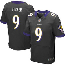 2016 Men Baltimore Ravens #9 Justin Tucker #5 Joe Flacco #57 C.J. Mosley #89 Smith_Sr Purple Black White, 100% stitched logo(China (Mainland))
