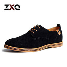 2015 New men's Genuine Leather casual shoes men spring autumn tide brand men's casual shoes free shipping(China (Mainland))