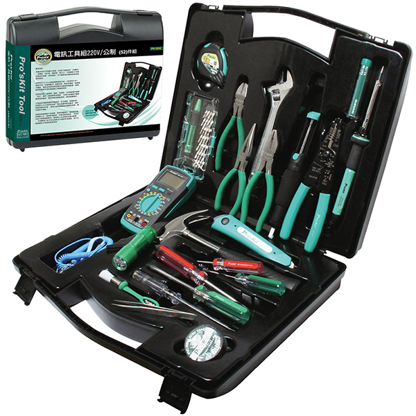 Brand ProsKit Tools PK-2052 Technician's Tool Kit Repair Tool Set(China (Mainland))