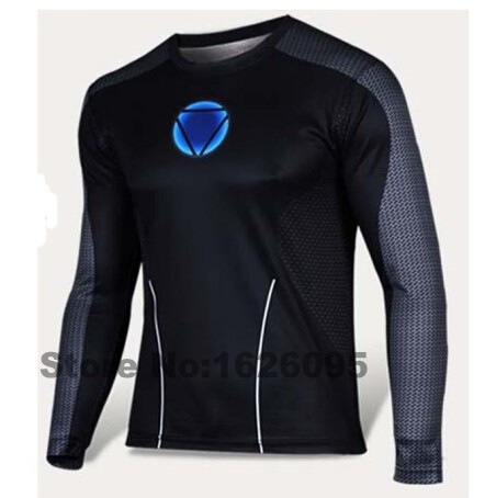 Men Marvel Gym Compression Shirt Long Sleeve T Shirt Superman/Batman/Captain America Running Fitness Quick Dry Tights Clothing(China (Mainland))
