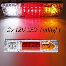 2 x 12V LED Taillight Truck Car Van Lamp Tail Trailer Light parking led  Rear Lights(China (Mainland))