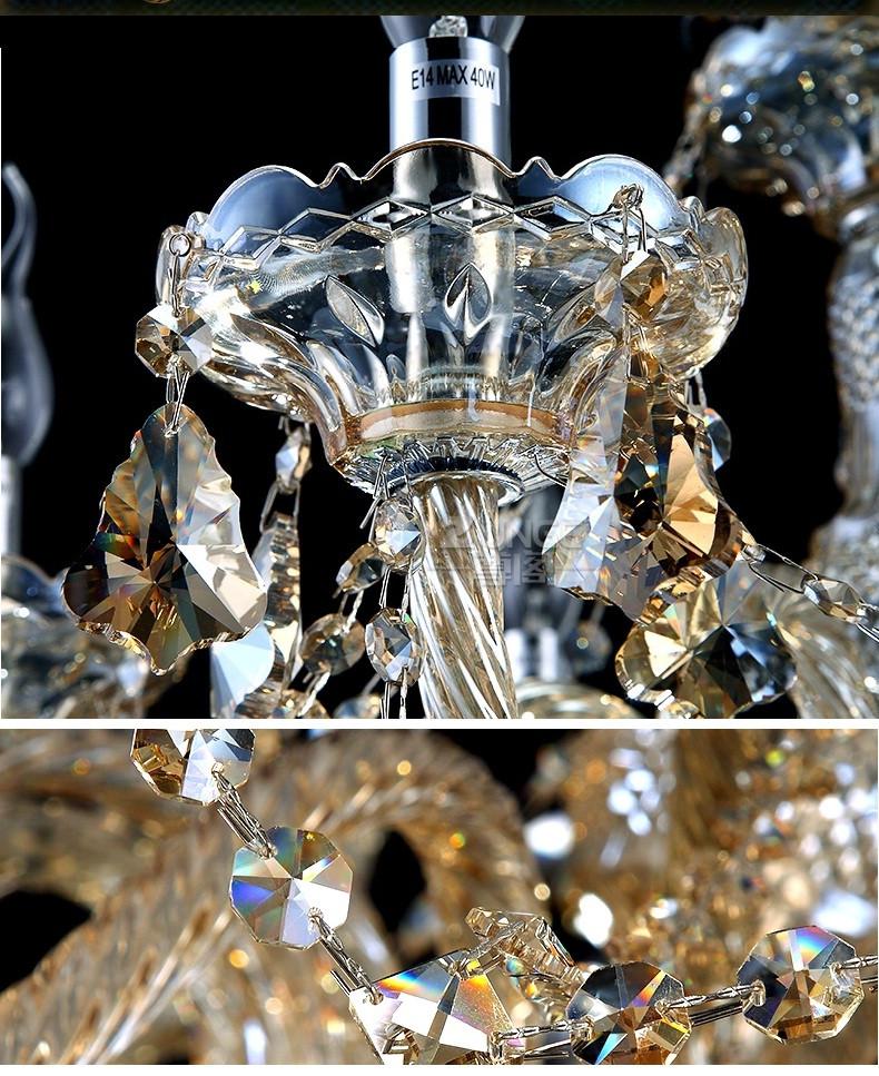 Купить Люстра Современные Хрустальные Светильники гостиная спальня хрустальные Светильники Кандель люстра Кристалл освещение люстры в Помещении Дома