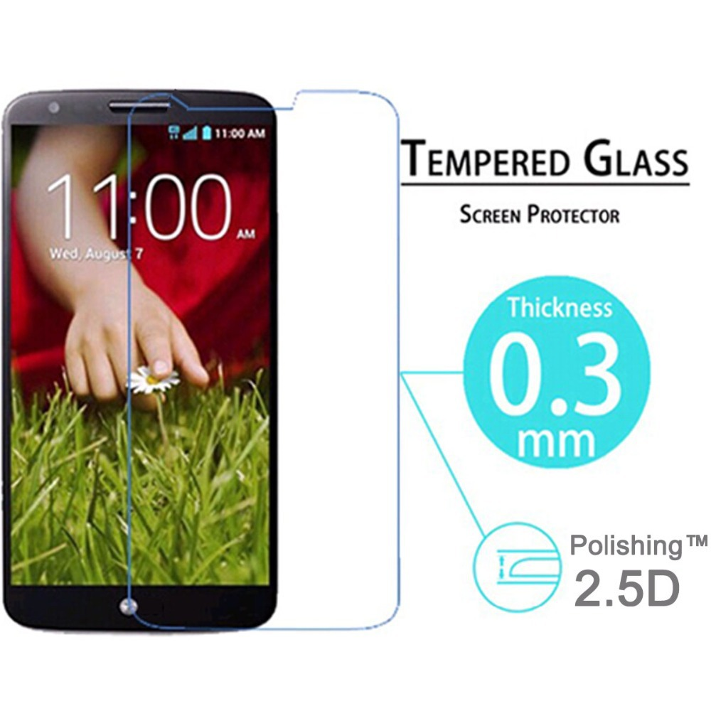 Ultra-thin Optimus G2 Premium Tempered Glass Screen Protector Protective Film For LG G2 1PCS Free Shipping(China (Mainland))