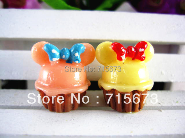 Whole sale flat back resin foods 10pcs/lot resin crafts free shipping phone hair children decoration(China (Mainland))