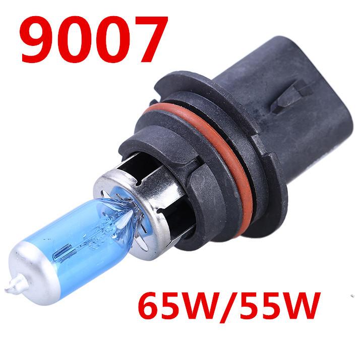 2PCS 9007 HB5 Auto Head Light Bulb Lamp Super White 12V 65/55W 6000K Halogen Bulb Free Shipping(China (Mainland))