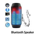 Hot Colorful LED Lights Bluetooth Speaker 360 subwoofer Wireless Outdoor Portable Speaker Support NFC U disk