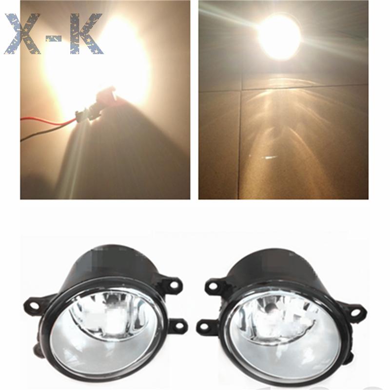 For TOYOTA Avanza 2007-2011 Car styling Halogen fog lamps 12V 1 SET(China (Mainland))