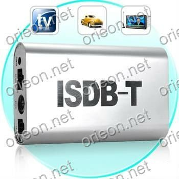 Free shipping 1pc/lot Car ISDB-T Digital TV Box for Auto ISDB-T Receiving (ISDB02)