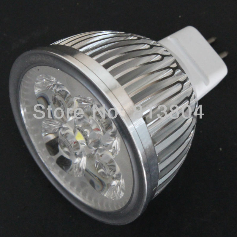 Free shipping  BEST Factory price LED spotlight Epistar 4W bulb  MR16 GU10 E27 GU5.3  replace to halogen 50W 3 years warranty(China (Mainland))