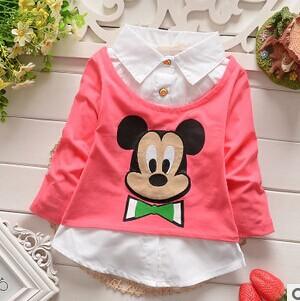 Блузка для девочек MamaKiss 2015 baby A048