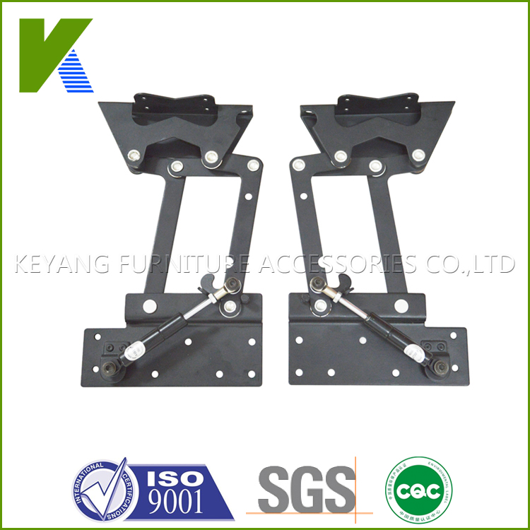 Furniture Hardware Adjustable Hinges Folding Table Mechanism KYD002(China (Mainland))