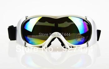 Зима спорта на открытом воздухе рамка покрашенный объектив взрослых снегоход сноуборде кататься на коньках очки X400 защитные очки очки