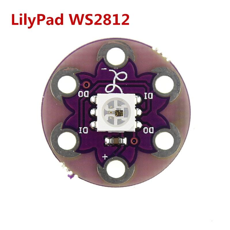 Smart Electronics LilyPad Pixel Board WS2812 module arduino Free