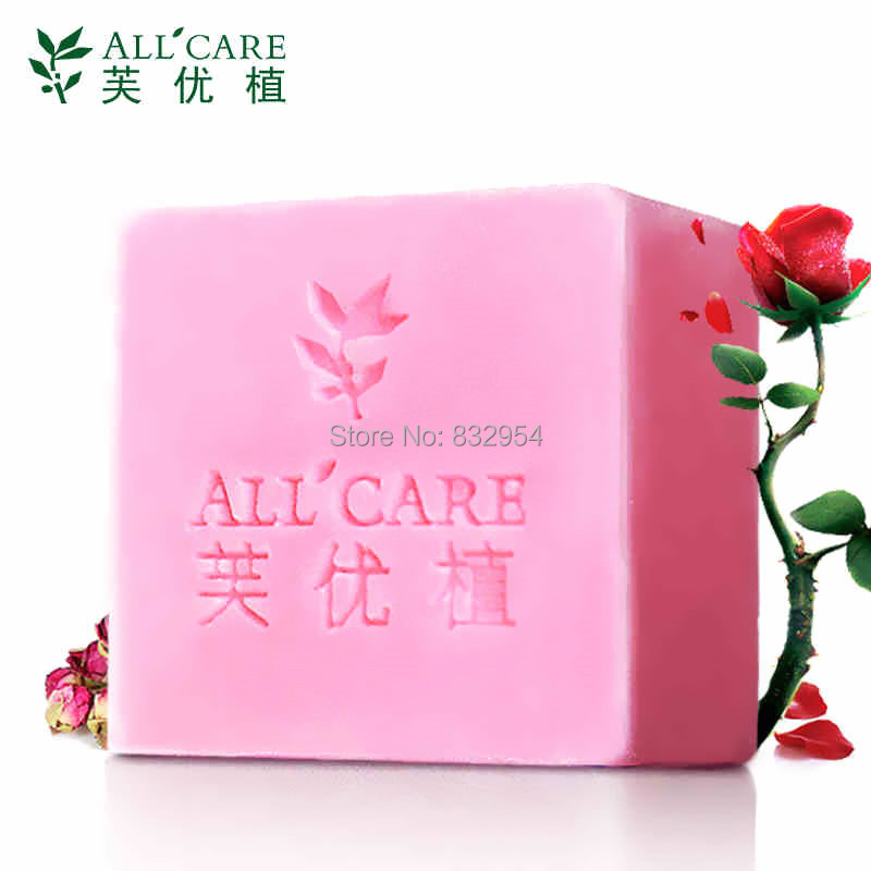 Free Shipping Natural pink aloe vera Soap Face and Body Bath Soap For Skin whitening and lubrication smooth magic black soap(China (Mainland))
