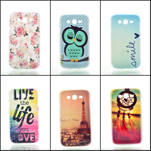 For Samsung Galaxy grand duos i9082 Case New Fashion High Quality Fashion Cartoon Hard Plastic Back Cover Cases C455-A(China (Mainland))