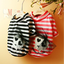 Buy Best Cotton Skull Design Costume Cute dog clothes Yorkshire Chihuahua dog clothing pet clothes shirt for $6.50 in AliExpress store