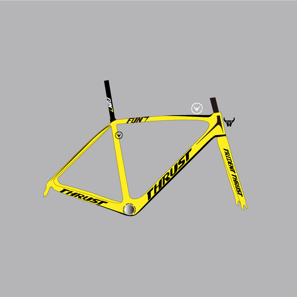 High quality carbon road bike frame paint in white and green color bicycle frame 56CM carbon frame cheap road frameset(China (Mainland))