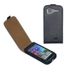 Leather Flip Case Cover For HTC sensation G14, sensation XE G18 Mobile Phone Bag Protective Case(China (Mainland))