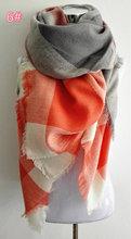 za winter scarf 2016 Tartan Scarf women desigual Plaid Scarf cuadros New Designer Unisex Acrylic Basic Shawls warm bufandas(China (Mainland))