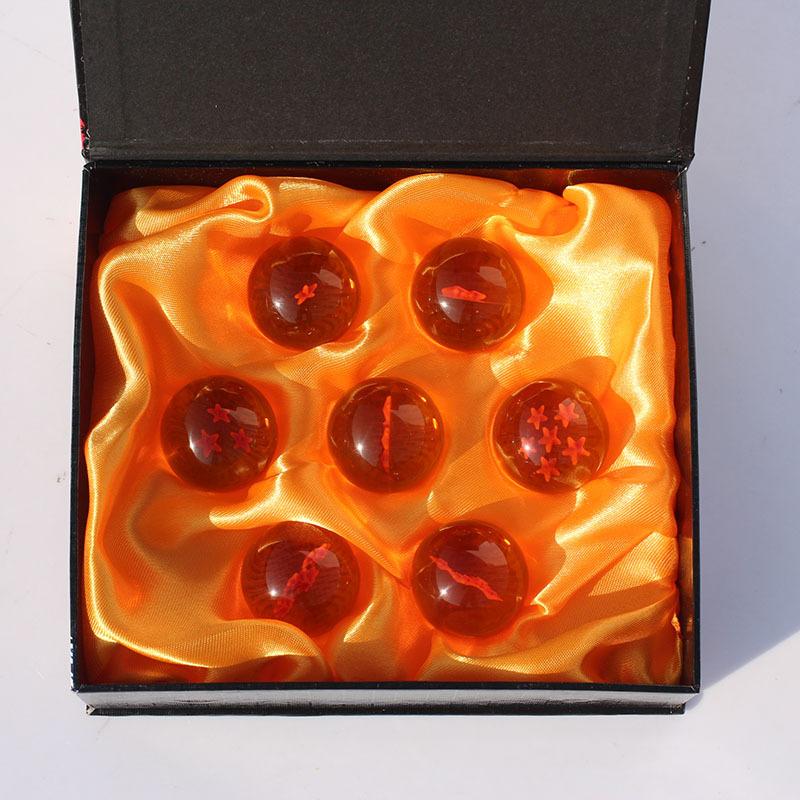 3set/lot 3.5CM Dragon Ball Z New In Box 7 Stars Crystal Balls Set of 7 pcs Complete set Dragonball Z<br><br>Aliexpress