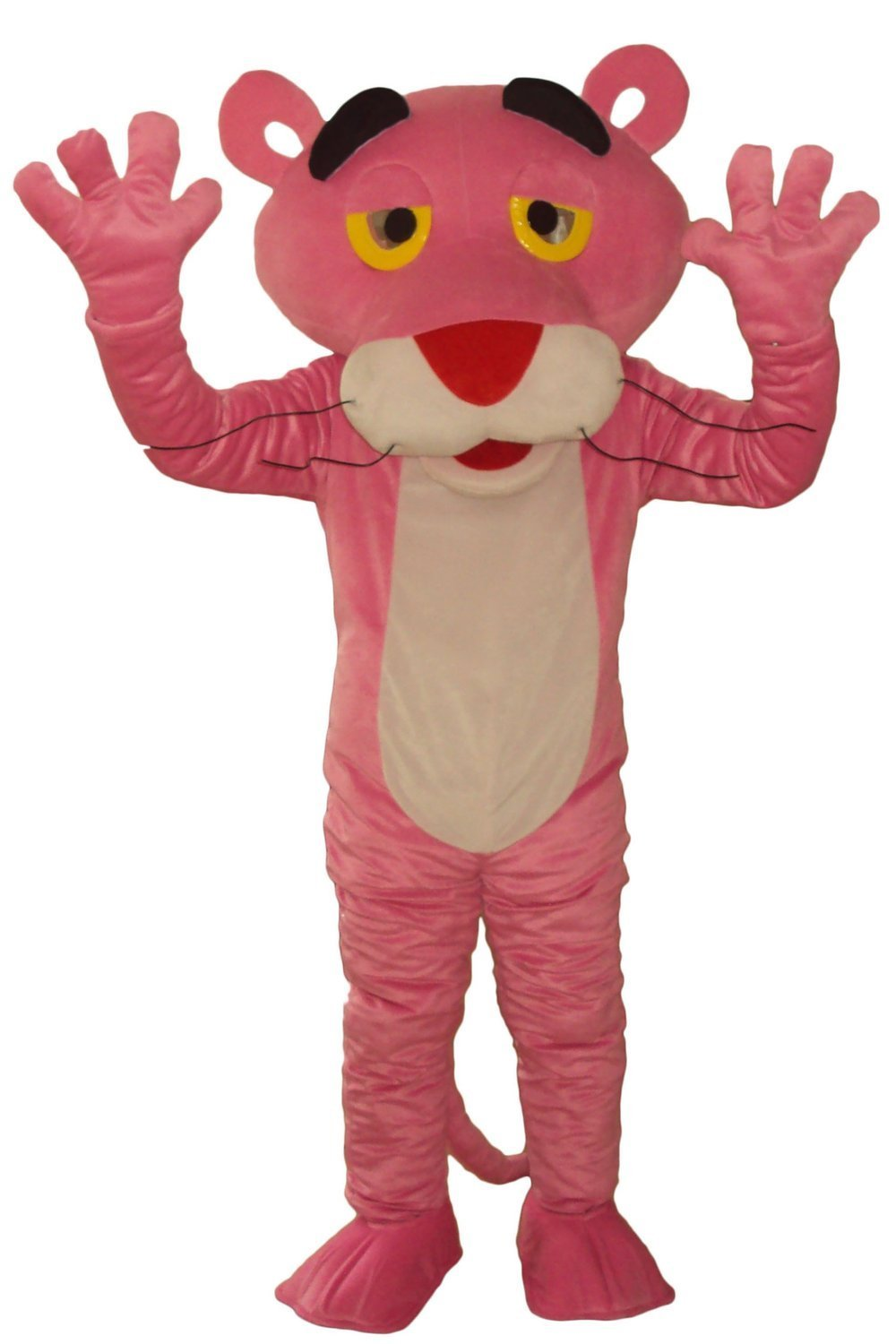 New Arrival Hot Sales Pink Panther Mascot Costume Leopard Mascot Costume Pink Panther Fancy Dress(China (Mainland))